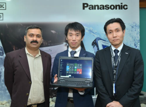 Panasonic showcases its product range at Gwalior Trade Fair 1