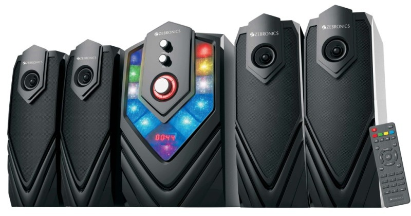 Zebronics launches its 4.1 Speakers 'Samba' at Rs. 4747 1