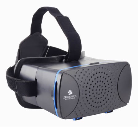 Zebronics launches Virtual Reality 3D for Smartphones with ZEB-VR Headset 4