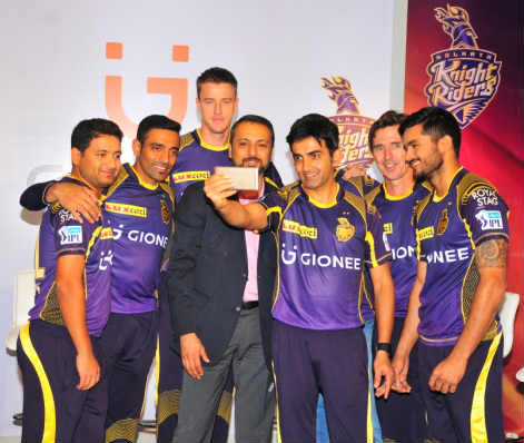 Gionee unveils new global brand identity with Kolkata Knight Riders 1
