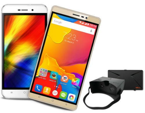 Karbonn launches its VR Smartphone range - Karbonn Quattro L52 and Karbonn Titanium Mach 6 1