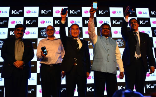 LG India launches K7 & K10 1
