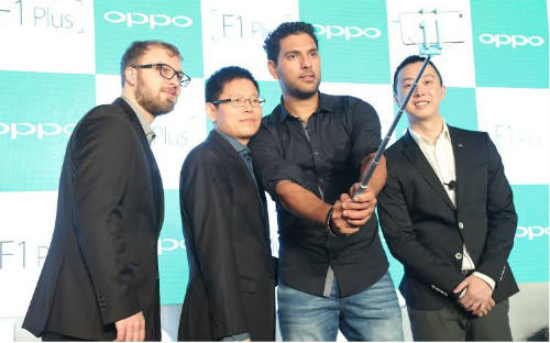 OPPO launches 16MP front camera enabled smartphone F1 Plus in India 1