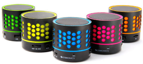 Zebronics launches 'DOT Bluetooth Speakers' @ Rs. 777 2
