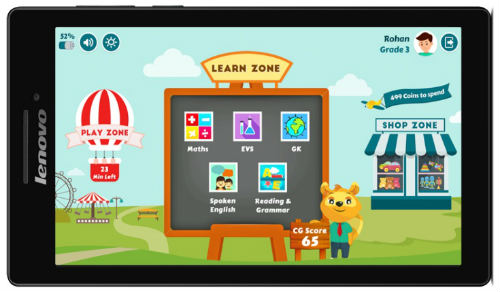 ConveGenius and Lenovo launch CG Slate to provide Learning solution for kids in India at Rs. 8,499 1