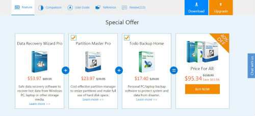 EaseUS Data Recovery Wizard to Rescue Deleted files! 1