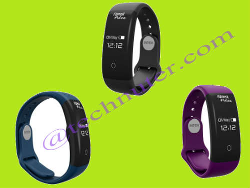 Intex launches its new fitness smart band – fitRist Pulzz @ Rs. 1,799/- 1