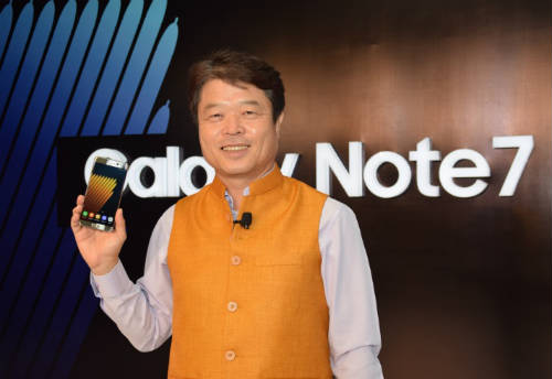 Samsung unveils Galaxy Note7 in India 1