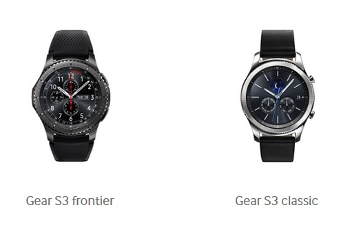 Samsung launches its new smartwatch Gear S3 1