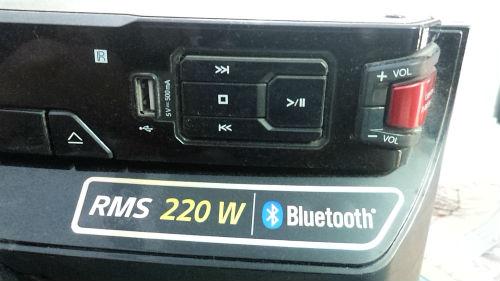 LG Portable X Boom Cube-OM4560 Speaker