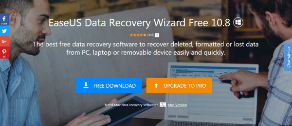 EaseUS Data Recovery Wizard Free Review 1