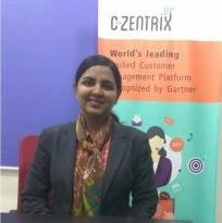 C-Zentrix Appoints Anju Chaudhary as Vice President, Sales, Cloud