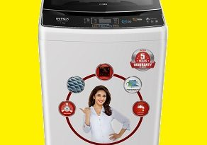 Intex launches its new fully-automatic washing machine WMFT75BK 1