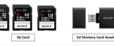 Sony Launches Its Fastest SD Card- SF-G Series & Super Speed Memory Card Reader 1
