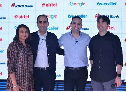 Truecaller ties up with Airtel, Google and ICICI Bank 1