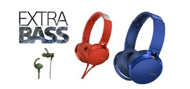 Sony Expands Its EXTRABASS Headphones Line-up 1