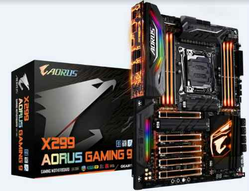 GIGABYTE demonstrates its latest X299 AORUS Gaming Series Motherboards 1