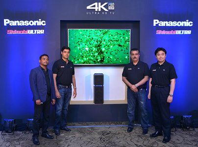 Panasonic launches its home-entertainment experience with a new 2017 line-up of 4K Ultra HD TVs along with the UA7 sound system 1