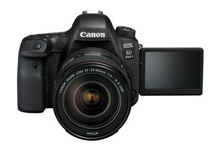 Canon India unveils its new DSLR 'EOS 6D Mark II' 3