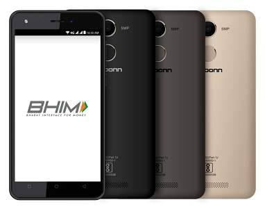 Karbonn launches its new smartphone 'K9 Kavach 4G' integrated with BHIM 6