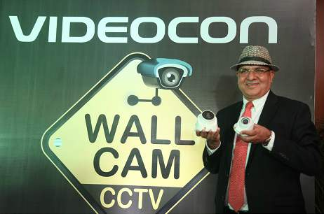 Videocon Telecom enters Indian Security and Surveillance market; launches CCTV brand WallCam 1