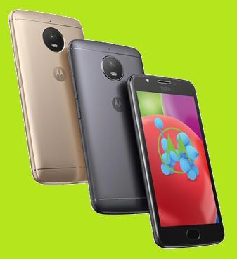 Motorola launches its new smartphones Moto E4 Plus and Moto E4 1