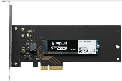 Kingston launches KC1000 NVMe PCIe SSD in India 1