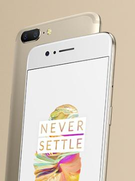 OnePlus launches OnePlus 5 Soft Gold Limited Edition 1