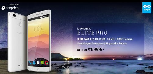 Swipe launches ELITE PRO, 4G smartphone with 3GB RAM 3