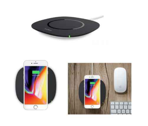 Belkin launches its entry-level 5W wireless charging pad for Qi enabled smart devices such as smartphones and tablets 1