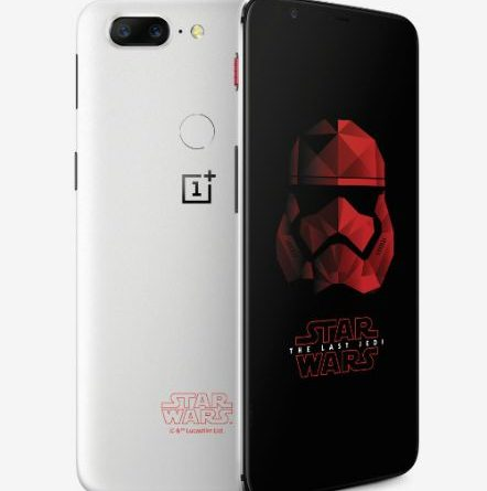 OnePlus rolls out OnePlus 5T Star Wars Limited Edition 1