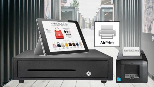 Star Micronics displays Apple Certified AirPrint POS Printer at NRF 2018 1