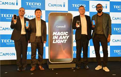 """TECNO Mobile launches its camera-centric smartphone """"Camon i"""" in India 1"""