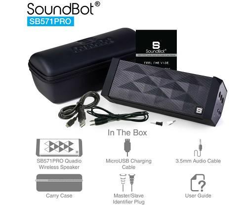 SoundBot launches its Surround Sound Bluetooth Speaker SB571PRO 1