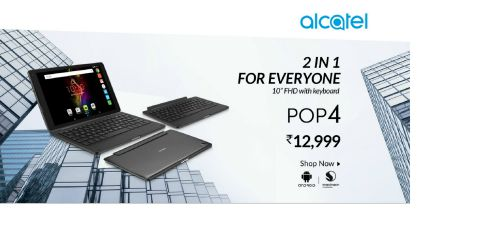 Alcatel launches the first and only 2-in-1 POP4 10 Keyboard tablet 1