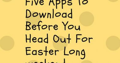 Five Apps To Download Before You Head Out For Easter Long weekend
