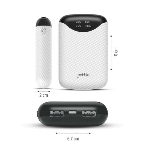 Pebble Launches Ultra Small 10,000 mAh Power Bank Pico in