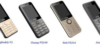 Fox Mobiles Launches new range of Simple, No-Nonsense Basic Keypad Phones 4