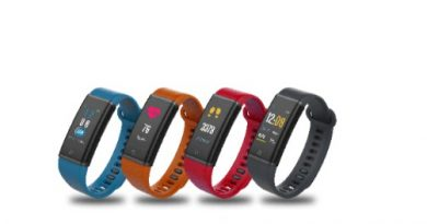 Lenovo Launches HX03F Spectra and HX03 Cardio Fitness Band in India