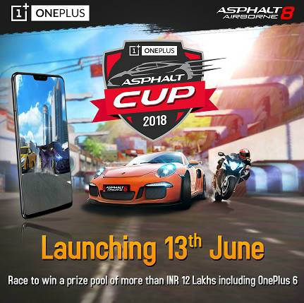 OnePlus and Gameloft launch India's exclusive online racing championship 'OnePlus Asphalt Cup' 1