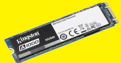 Kingston A1000 PCIe NVMe SSD
