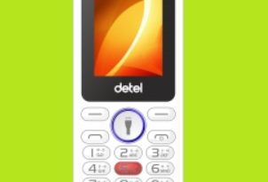 Detel feature phone