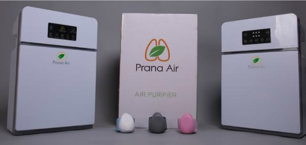 Prana Air Launches Its Indoor Air Purifier 1