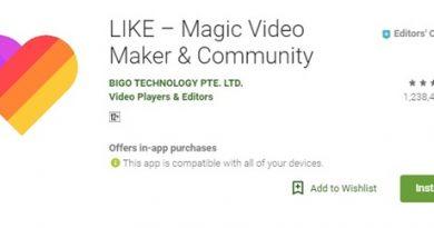 Like app