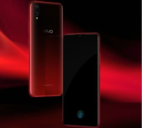 Vivo V11 Pro Supernova Red