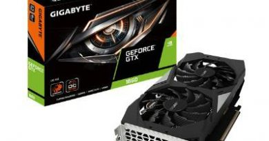 GeForce GTX 1660 GAMING OC 6G graphics card