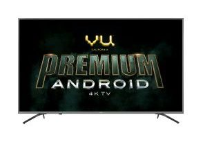 VU launches its Premium Android range of TVs starting at Rs. 14,500 3