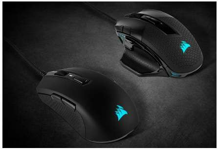 CORSAIR Expands Its Lineup of Performance Gaming Mice with the New NIGHTSWORD RGB and M55 RGB PRO 1