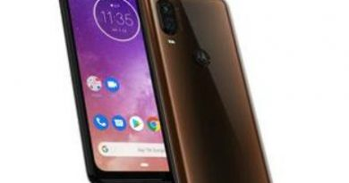 motorola one vision Bronze gradient color variant