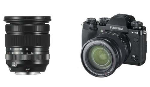 Fujifilm 5x zoom lens FUJINON XF16-80mmF4 R OIS WRin India